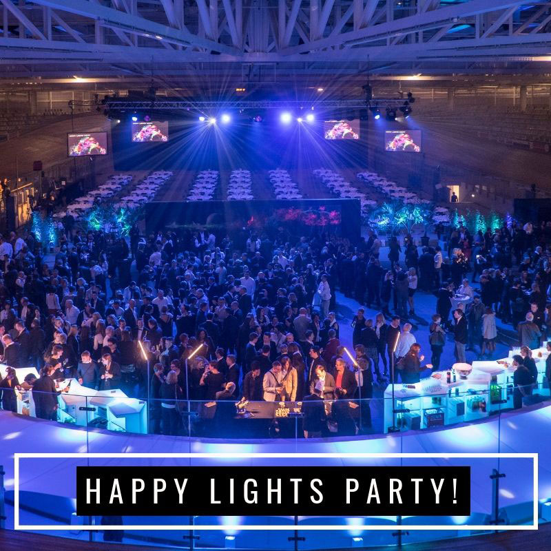 Happy lights Party